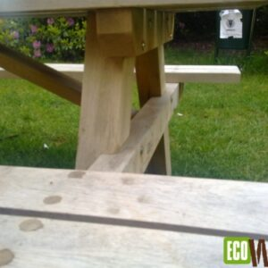 Bekende model eiken picknicktafel
