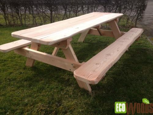 Douglas opklapbare picknicktafel
