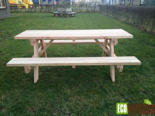 Eco picknicktafel 200 3 1