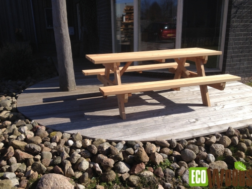 Eco-picknicktafel