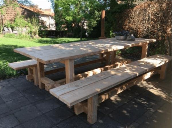 Picknicktafel 3 meter